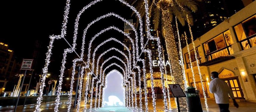 Al Hai: new light installations inspired by Emirati neighbourhoods brighten up Downtown Dubai