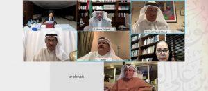 مجلس أمناء مؤسسة سلطان بن علي العويس الثقافية  يعقد اجتماعه الأول لعام 2021