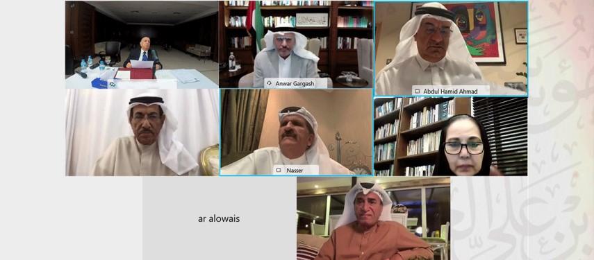You are currently viewing مجلس أمناء مؤسسة سلطان بن علي العويس الثقافية  يعقد اجتماعه الأول لعام 2021