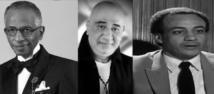 وفاة 3 فنانين مصريين في يوم واحد