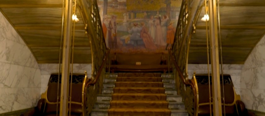 An Art Nouveau gem unmasked in Covid-hit Brussels
