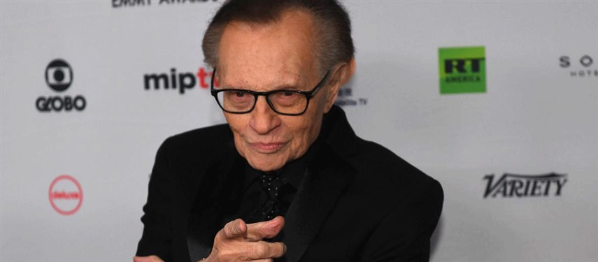 Talk show host Larry King, 87, in hospital with Covid-19
