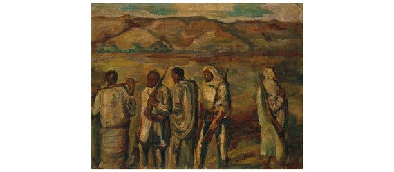 Renowned Egyptian artists Mohammed and Effat Naghi's works to be auctioned in Paris