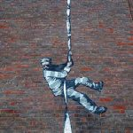 Possible new Banksy artwork appears overnight on side of British prison