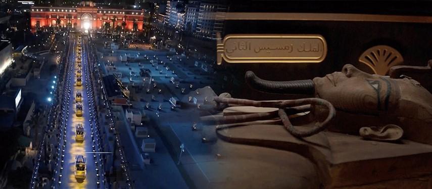 نقل 22 مومياء ملكية إلى المتحف المصري في موكب مهيب