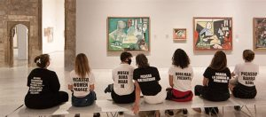 Read more about the article Museum protesters denounce Picasso's treatment of women