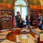 """هيئة """"الشارقة للكتاب"""" تستعرض أبرز ملامح الثقافة العربية والإماراتية في """"مكتبة الكونغرس الأمريكية"""""""