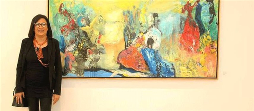 You are currently viewing Egyptian painter Riham El Adl wins art award in Italy