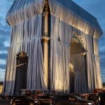 Wrapping of Arc de Triomphe begins in Paris art installation