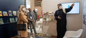 Read more about the article مؤسسة محمد بن راشد آل مكتوم للمعرفة تختتم بنجاح مشاركتها في معرض فرانكفورت الدولي للكتاب 2021
